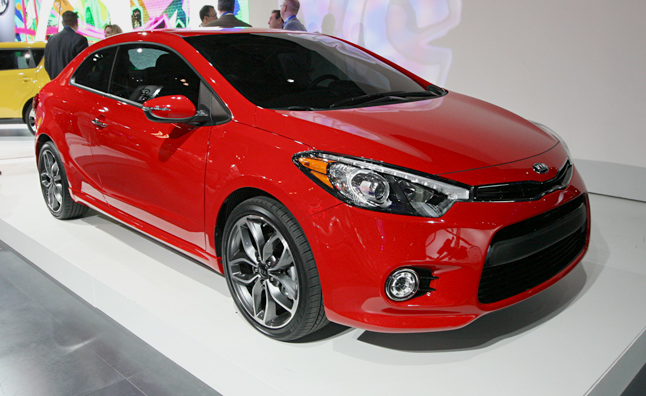 2014 Kia Forte Koup: First Look Video