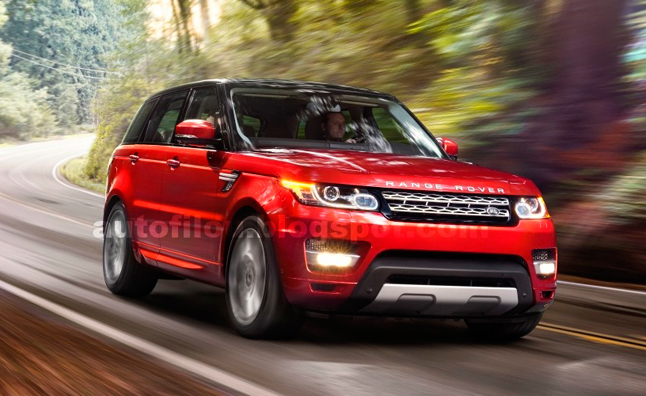 2014 Range Rover Sport Official Photos Leaked
