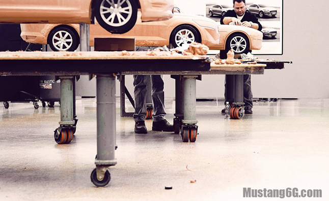 2015 Ford Mustang Clay Models Reveal Fastback Design