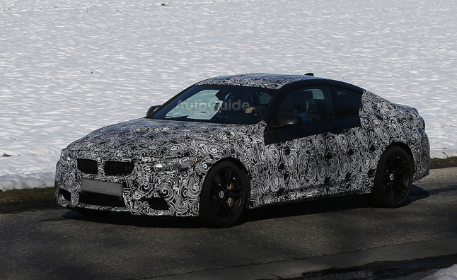 BMW M4 Spy Photos Show Uber 4-Series Coupe