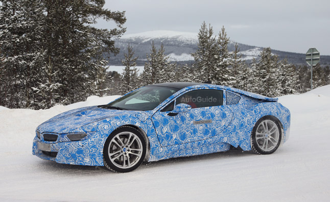 BMW i8 Spy Photos Show off New Details
