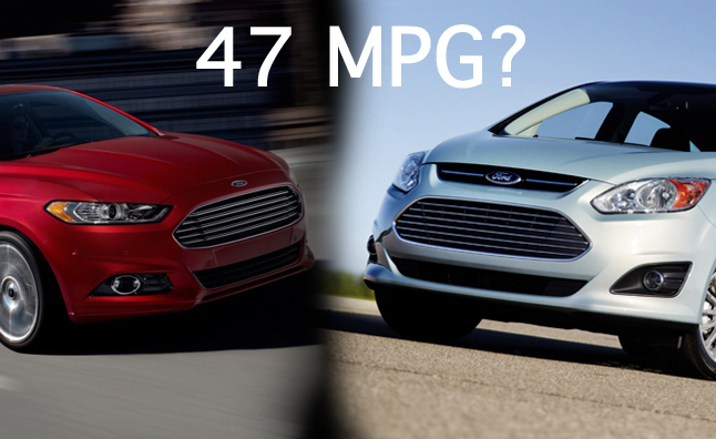 Ford Being Sued Over C-Max Hybrid, Fusion Hybrid MPG Claims