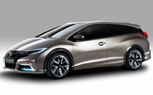 Honda Civic Tourer Concept is a Euro-Only Wagon