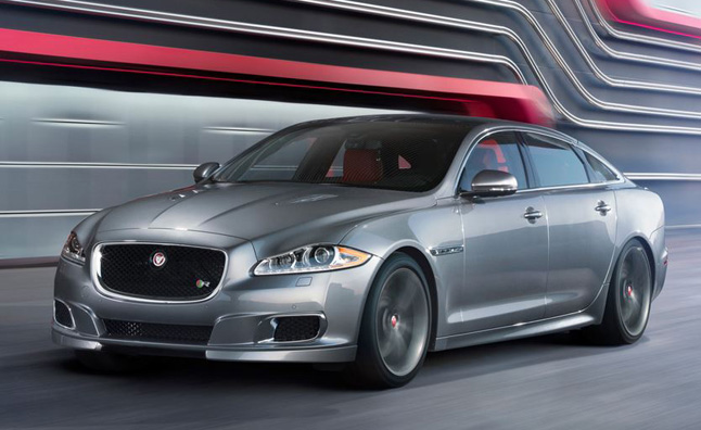 2014 Jaguar XJR is Long and Strong: 2013 New York Auto Show