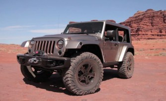 Jeep Wrangler Flat Top Concept Video, First Look