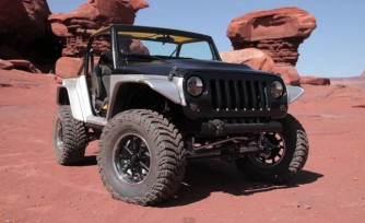 Jeep Wrangler Stitch Concept Video, First Look