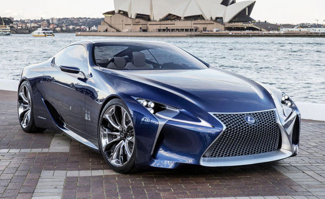 Lexus LF-LC Concept Heading for Production