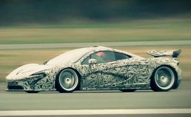 F1 Pilot Sergio Perez Tests McLaren P1 on Top Gear Test Track – Video
