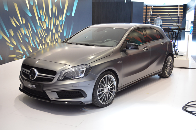2014 Mercedes-Benz A45 AMG Video, First Look: 2013 Geneva Motor Show