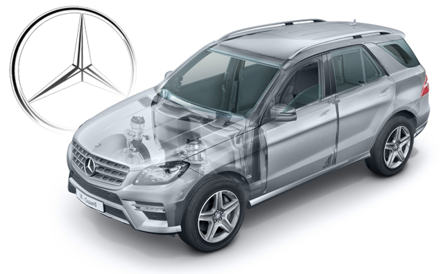 2013 Mercedes M-Class Latest in Armored Vehicle Lineup
