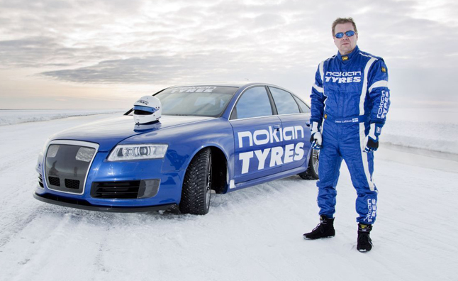 Nokian Tyres Fastest on Ice: New Nokian Hakkapeliitta 8 sets New World Record 335.713 km/h!