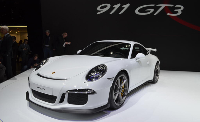 2014 Porsche 911 GT3 Video, First Look: 2013 Geneva Motor Show