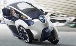 Toyota i-Road is an Electric Scooter That Drives Like a Car
