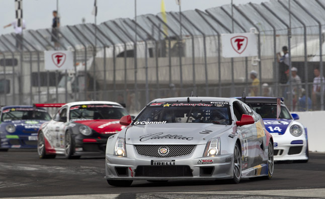 World Challenge St. Petersburg Cadillac CTS-V