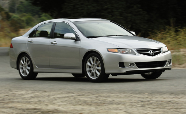 Acura TSX Recalled in Canada for ECU Problems