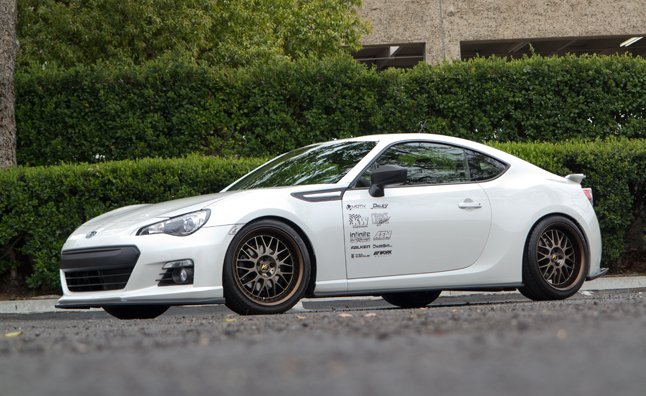 Project Subaru BRZ Gets Wheels, Performance Upgrades