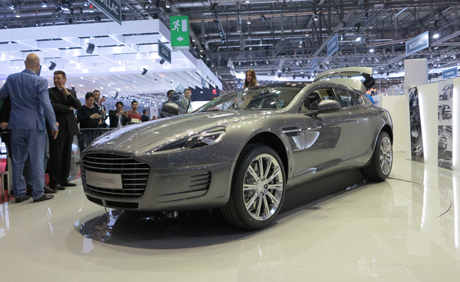 Bertone Jet 2+2 is an Aston Martin Rapide Station Wagon