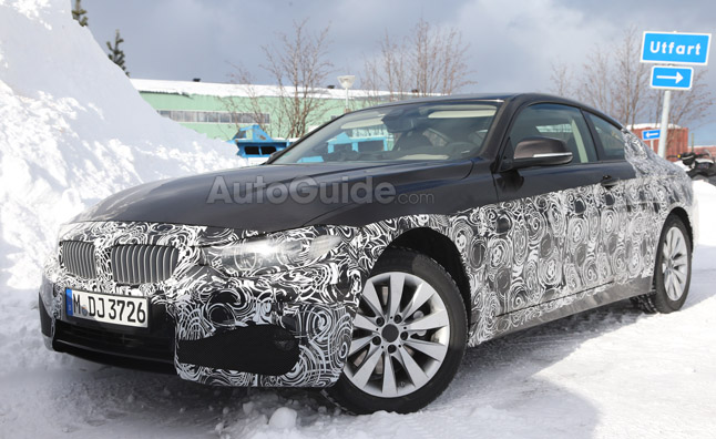 BMW 4 Series Coupe Spied Again, Interior Revealed