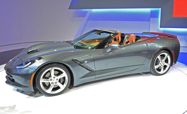 First 2014 Corvette Convertible Heads to Charity Auction