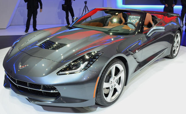 2014 Chevrolet Corvette Stingray Convertible World Premiere: 2013 Geneva Motor Show