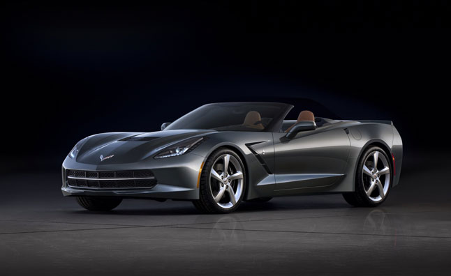2014 Corvette Convertible Revealed Prior to Geneva Motor Show Debut