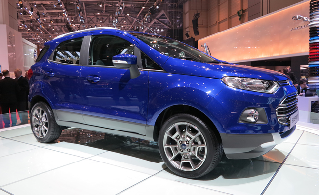 Ford EcoSport Brings Developing World Transportation to Europe
