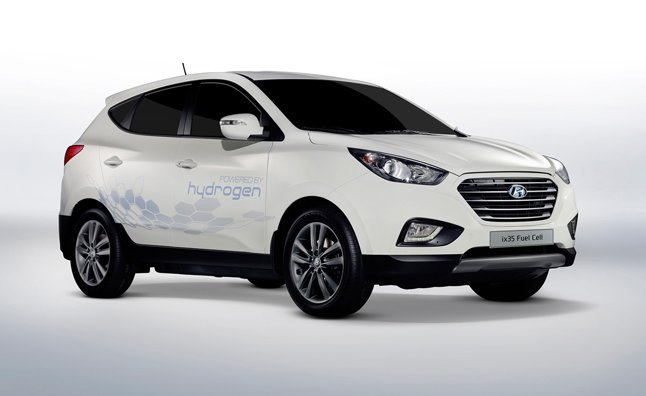 Hyundai Tucson Hydrogen Fuel Cell On Sale in 2015 Confirms CEO