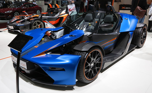 KTM X-Bow to Get Audi TT RS Five-Cylinder