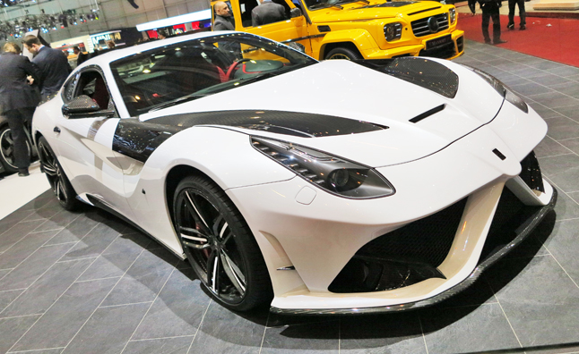 Mansory Ferrari F12 is a Nip/Tuck Gone Wrong