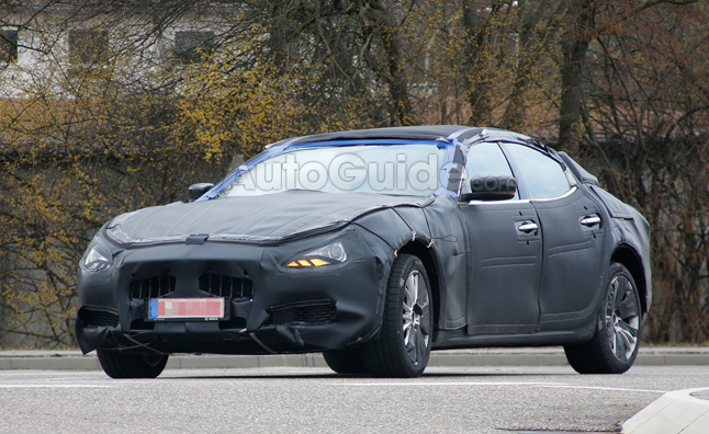 Maserati Ghibli Spied Again Testing on the Streets