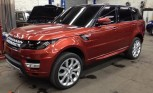 2014 Range Rover Sport Teased on New York Streets