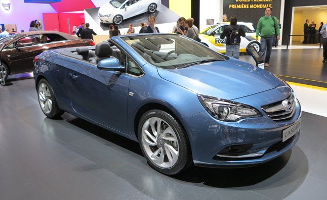 Opel Cascada Has Buick Regal Convertible Written All Over It