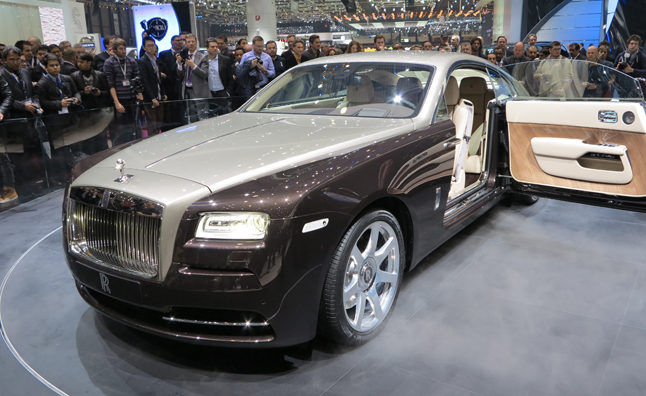 Rolls-Royce Wraith Unveiled as Brand's Most Powerful Car Ever: 2013 Geneva Motor Show