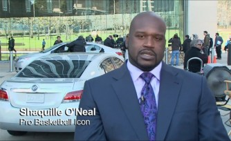Shaq to Star in New Buick LaCrosse Ad   Video