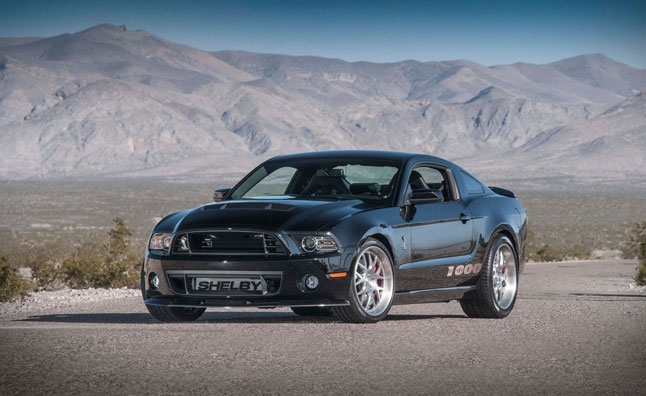 Shelby 1000 S/C Packs 1,200 HP: 2013 NY Auto Show Preview