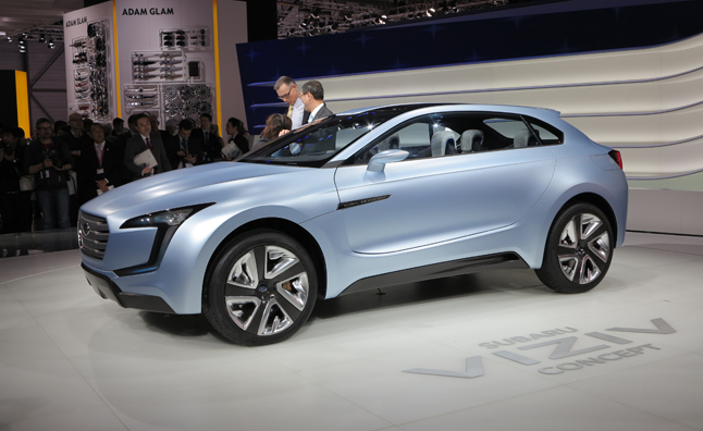 Subaru Viziv Concept Previews Future Styling, Diesel-Hybrid Tech