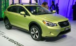 2014 Subaru XV Crosstrek First With Brand's Hybrid Tech