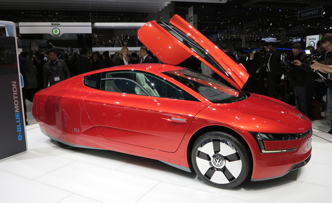 Volkswagen XL1 Gets 261-MPG, is NOT a Concept Car