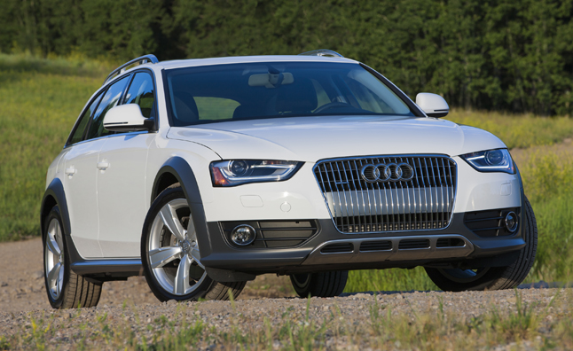 Audi allroad white