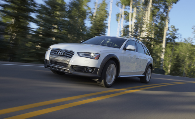 audi a4 allroad driving