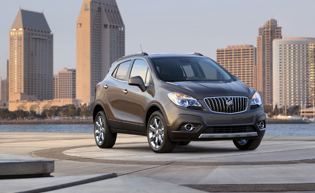 Buick Encore Recalled: Steering Wheel Might Come Off