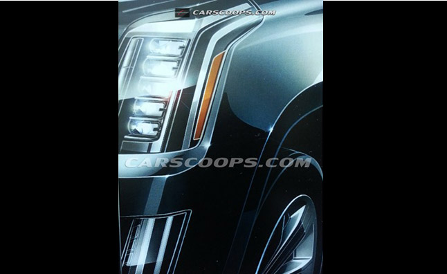 2014 Cadillac Escalade Photo Leaked