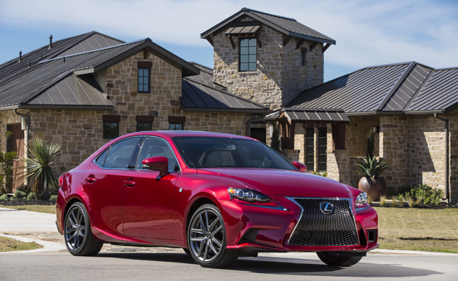 2014-IS-350-F-SPORT-red-building