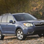 2014 Subaru Forester Recalled for Curling Floor Mats