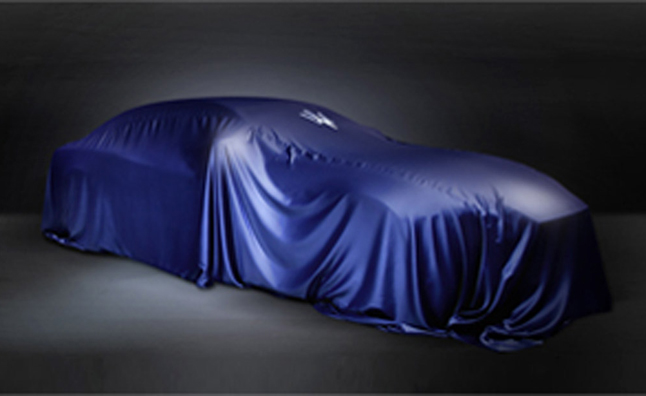 Maserati Teases New Car Before Shanghai Debut