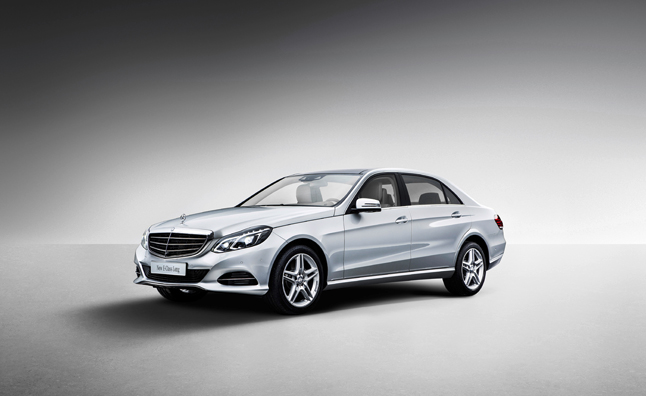 2014 Mercedes E-Class Long Wheelbase Unveiled in China