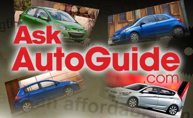 Ask AutoGuide No. 8 – Comparing the Nissan Versa, Toyota Yaris, Hyundai Accent and Mazda2