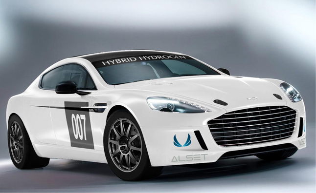 Aston Martin Rapide S Hydrogen-Hybrid to Race at 24 Hours of Nurburgring