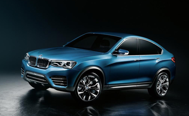 BMW X4 Concept Previews Future of X Lineup