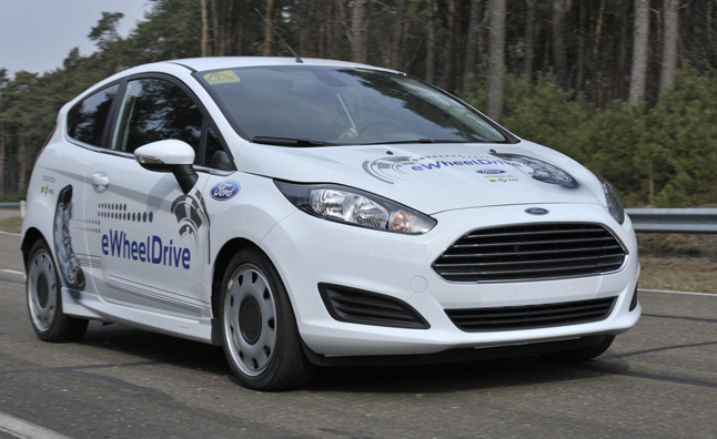 Ford Fiesta eWheelDrive Uses Sub-Compact Space Better